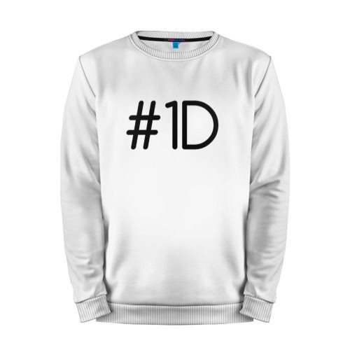 Мужской свитшот хлопок «One direction» white